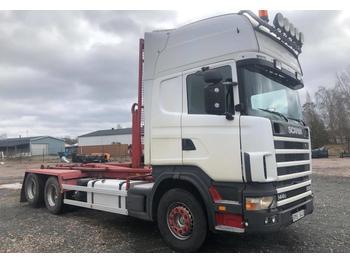 Hook lift truck Scania 144