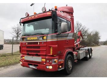 Scania 164 580 Edition Royal  - hook lift truck
