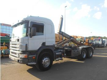 Hook lift truck Scania C 124C420