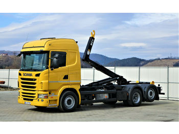 Scania  G380 Abrollkipper 5,80m *6x2* Top Zustand  - hook lift truck