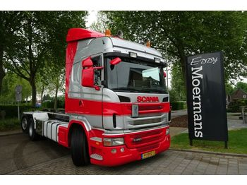 Scania G440 Highline 6x2*4 Abrollkipper  - hook lift truck