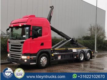 Hook lift truck Scania G450 scr only vdl hook