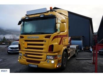Hook lift truck Scania G480