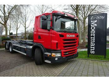 Hook lift truck Scania G480 6x2 EURO 6