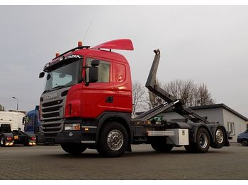 Scania G480 HAKOWIEC - hook lift truck