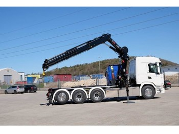 Hook lift truck Scania G500 8x4*4