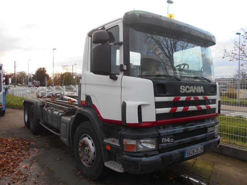 hook lift truck Scania G 114G380
