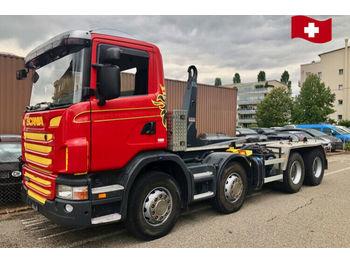 Hook lift truck Scania G 420 CB 8x4