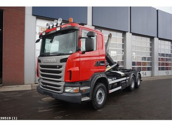Hook lift truck Scania G 480 6x4 Retarder
