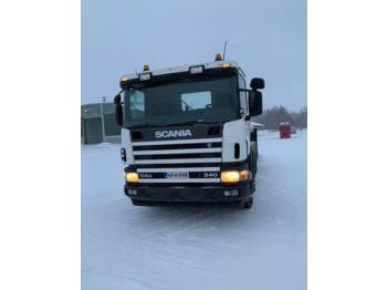 Hook lift truck Scania P114