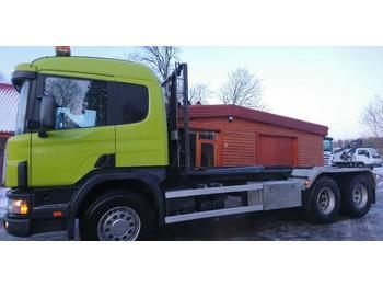 Hook lift truck Scania P124
