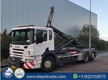 Hook lift truck Scania P280 6x2*4 e5 multilift