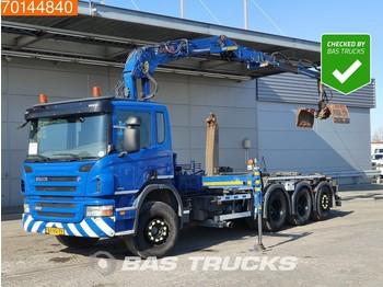 Hook lift truck Scania P360 8X4 Lift+Lenkachse Euro 5 Jonsered J1620 ZT93A