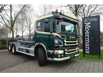 Scania P420 6x2  - hook lift truck