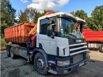 Hook lift truck Scania P94.310 GB6X4NZ   Manual   Palfinger PK15002   H