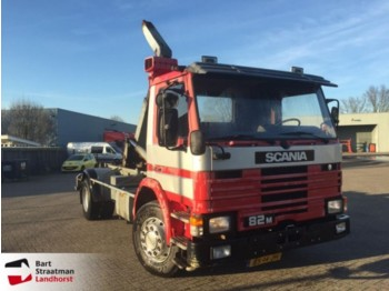 Scania PM 82 4x2 manual haakarmsysteem - hook lift truck