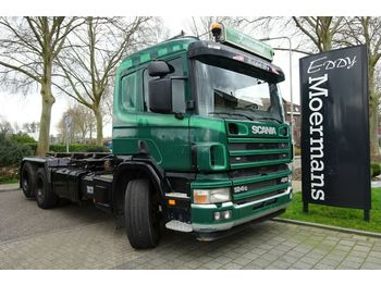 Hook lift truck Scania P 124G 420 6x2
