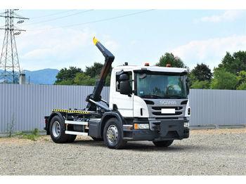 Hook lift truck Scania P 250 Abrollkipper 3,60m *4x2* Top Zustand !