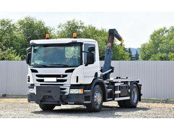 Hook lift truck Scania P 250 Abrollkipper 3,80m *4x2* Top Zustand !