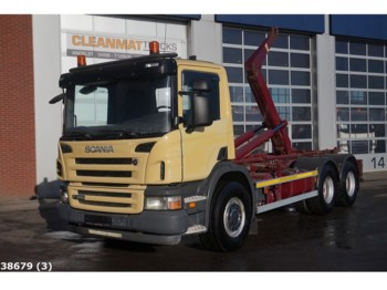 Hook lift truck Scania P 380 6x4 Manual Steel