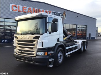 Hook lift truck Scania P 450 6x4