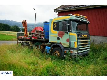 Hook lift truck Scania R144
