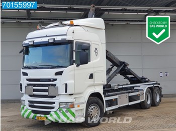 Hook lift truck Scania R400 6X2 Liftachse 3-Pedals Euro 5