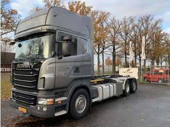 Hook lift truck Scania R440LB6X2*4HNA Haakarm