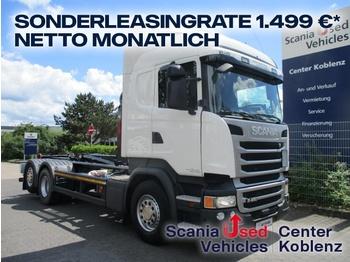 Hook lift truck Scania R450 - 6X2 MNB - HIAB Abrollkipper NEW - SCR ONLY