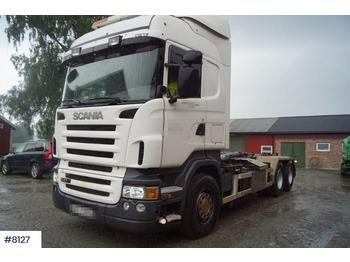 Hook lift truck Scania R470
