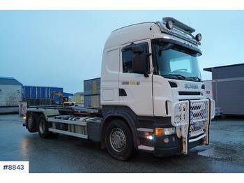 Hook lift truck Scania R480