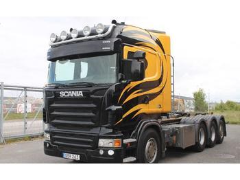 Hook lift truck Scania R480LB8X4*4HNB Euro 5