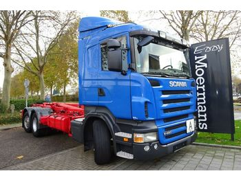 Scania R480 6x2*4 Cr 19  - hook lift truck