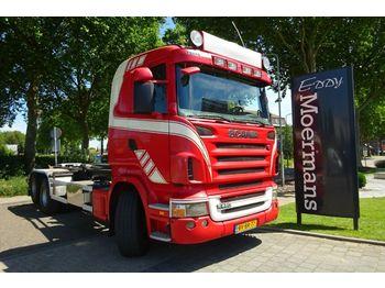 Hook lift truck Scania R480 6x2 Hakenabroller