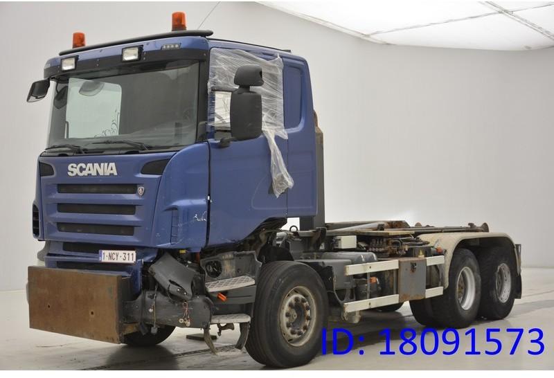 hook lift truck Scania R480 - 6x4