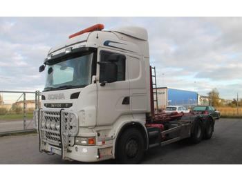 Hook lift truck Scania R480 LB 6X4 HNA Euro 5