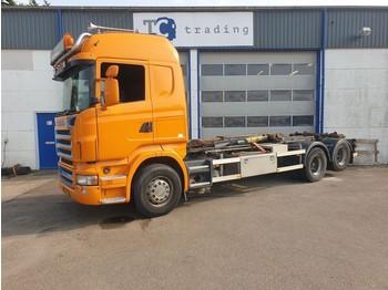 Hook lift truck Scania R480 hooklift manual gearbox R480