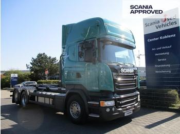 Hook lift truck Scania R490 LB6x2*4 MNA - MEILLER ABROLLKIPPER