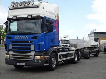 Scania R500LB6X2MNB - hook lift truck