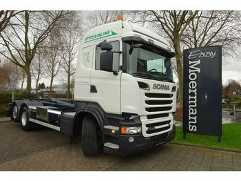 Hook lift truck Scania R500 6x2 Hakenabroller