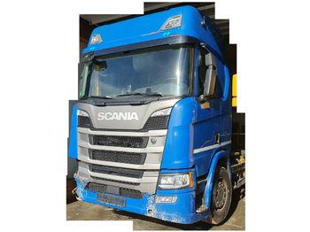 Hook lift truck Scania R500 Highline *Meiller RS 21.65 Abroller