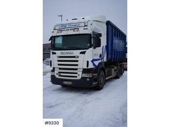 Hook lift truck Scania R560