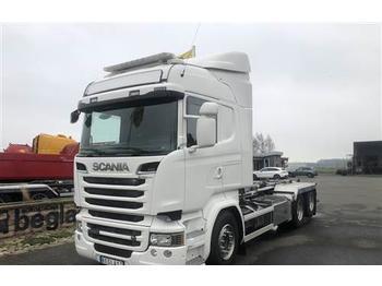 Hook lift truck Scania R580