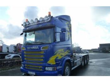 Hook lift truck Scania R730