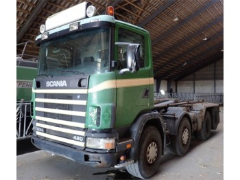 Hook lift truck Scania R 124