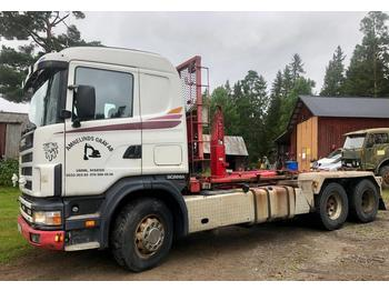 Hook lift truck Scania R 144 GB