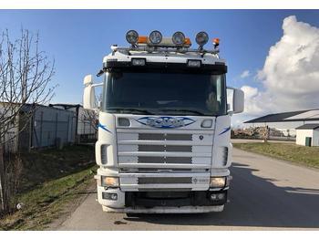 Hook lift truck Scania R 164 GB