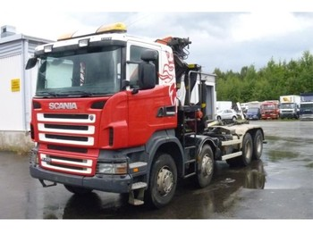 Hook lift truck Scania R 440 8X4