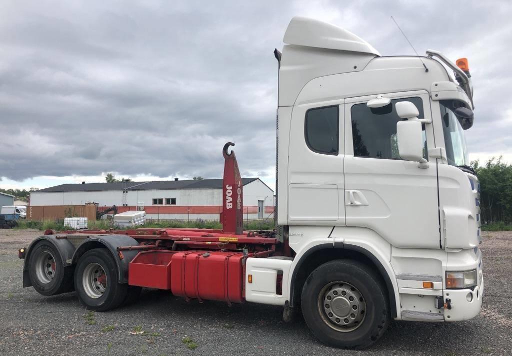 hook lift truck Scania R 480