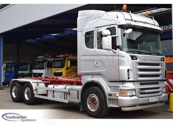 Hook lift truck Scania R 480, 6x4, Euro 5, Retarder, Truckcenter Apeldoorn